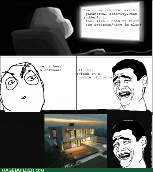 Rage Comics: Light 'em Up