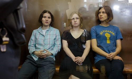 Breaking News of the Day: Pussy Riot Gets 2 Years In Jail