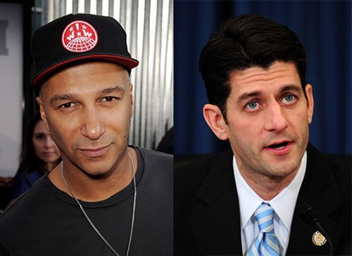 "The Daily What: Paul Ryan Has a Raging ""Machine"" for Rage Against the Machine"