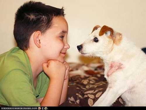 Around the Interwebs: Boy Starts 'Lick It List' for Dying Service Dog