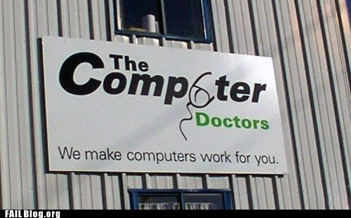 Business Sign FAIL