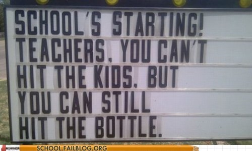 School of Fail: Time to Get Wasted