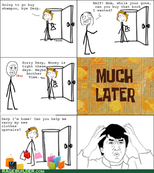 Rage Comics: Maybe I Can Just Read All the Ingredient Lists