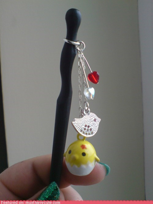 Cute Chick Hair Stick