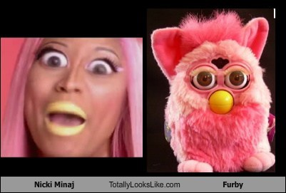 Nicki Minaj Totally Looks Like Furby