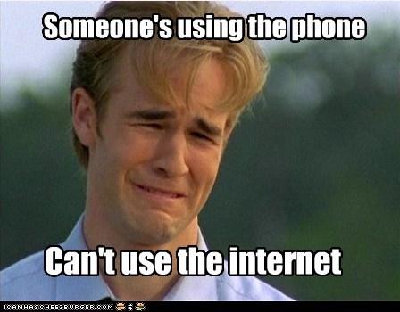90s problems,internet,phone