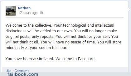 Failbook: Resistance is Futile!