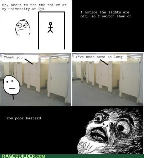 Rage Comics: Nothing Like a Little Cafeteria Food to Get You Going