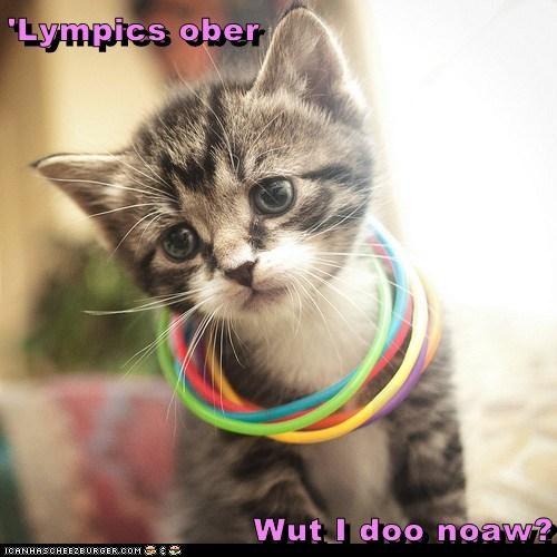 'Lympics ober  Wut I doo noaw?