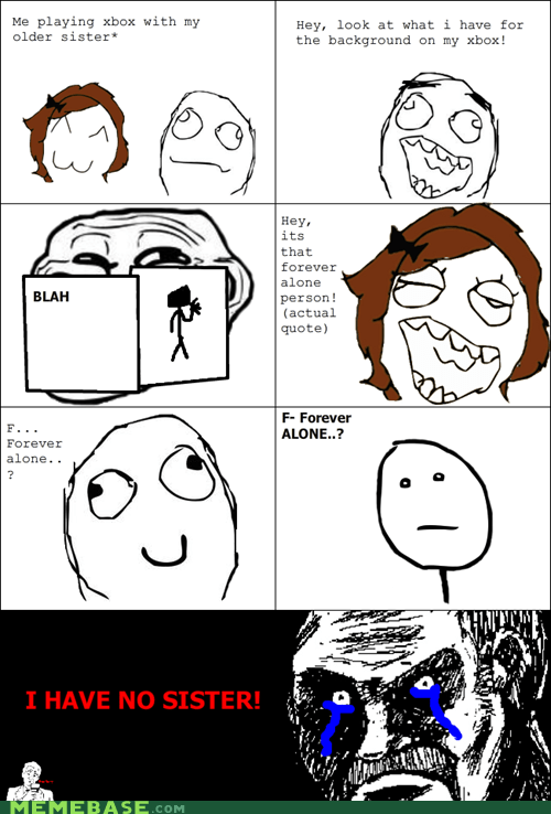 all that racket,siblings,troll face