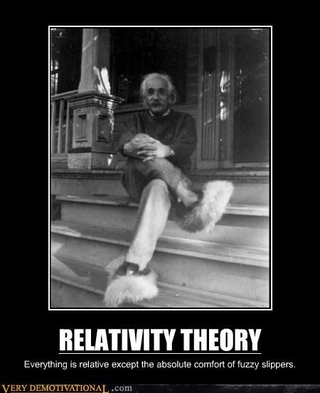 einstein,fuzzy,relativity,slippers