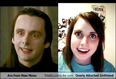 Michael Sheen (Aro from New Moon) Totally Looks Like Overly Attached Girlfriend