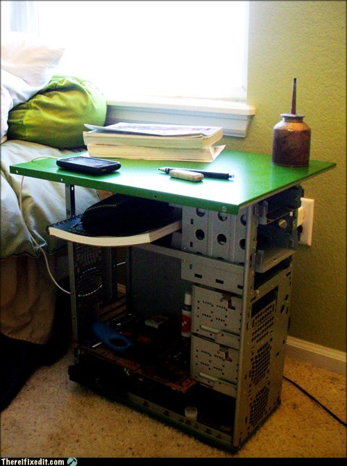 The Computer Case Nightstand