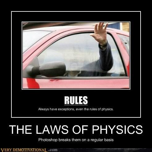 physics,car,photoshop