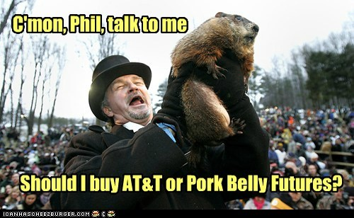 Or is that a silly question for a Ground-HOG?