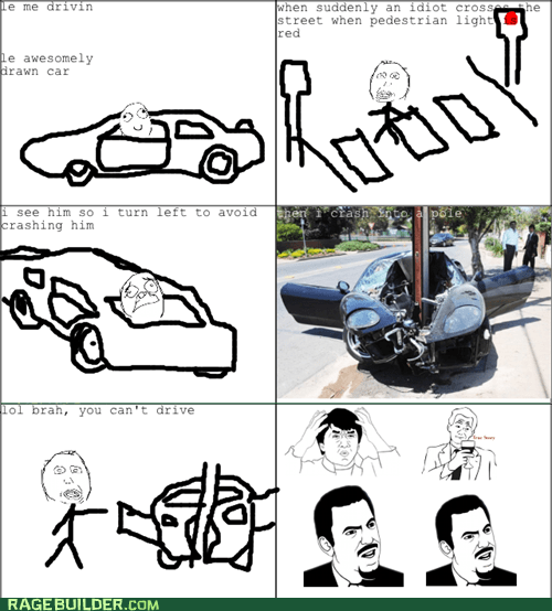 Scumbag Pedestrian