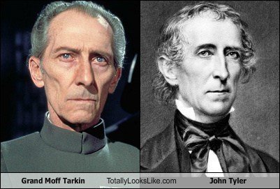 Grand Moff Tarkin Totally Looks Like John Tyler
