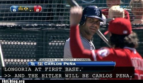 baseball,closed captioning,hitler,typo,whoops