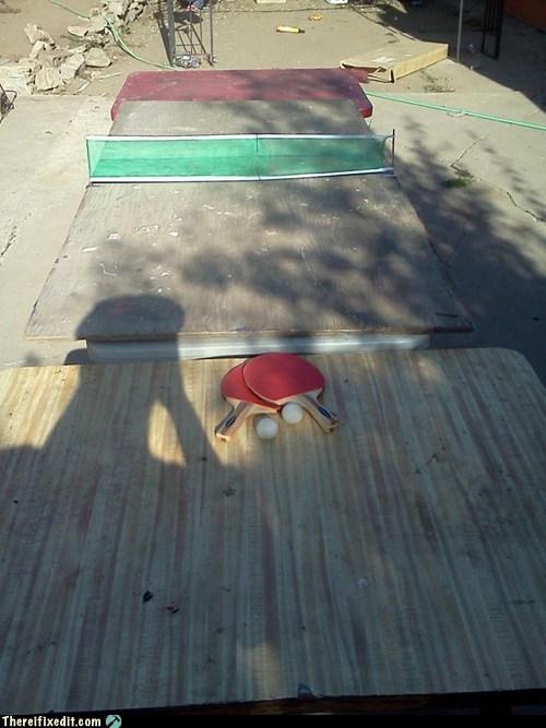 The DIY Ping Pong Table