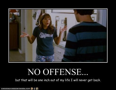 NO OFFENSE...