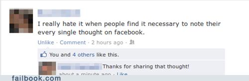 dumb status,irony,unnecessary status,useless status