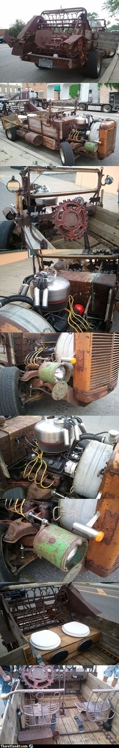 There I Fixed It: TIFI WIN: Minnesota Man Builds His Own Roadster
