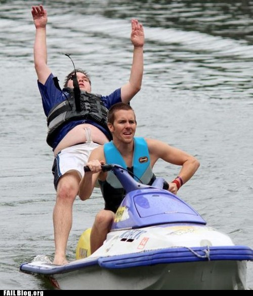 Jet Skiing With Your Bros FAIL