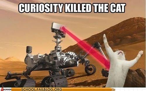 Damn You Mars Rover!