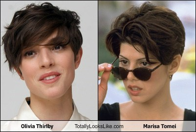 actor,celeb,funny,marisa tomei,olivia therlby,TLL