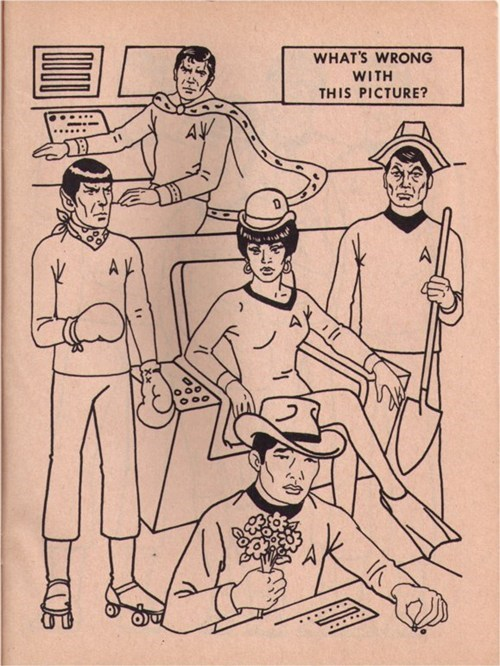 Bizarre Star Trek Coloring Books of the Day