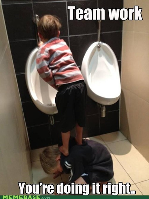 friendship,pee,take a stand dude,trickle
