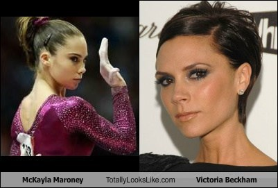 McKayla Maroney Totally Looks Like Victoria Beckham