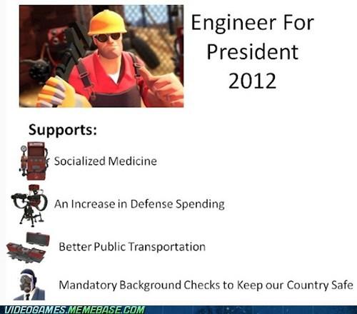 Engineer for President
