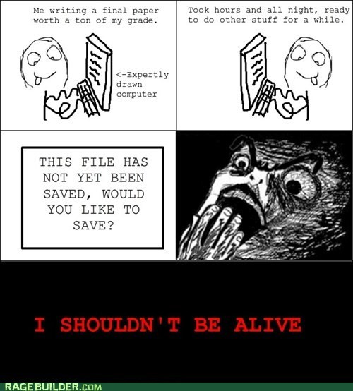 Rage Comics: I Almost Had a Break Down