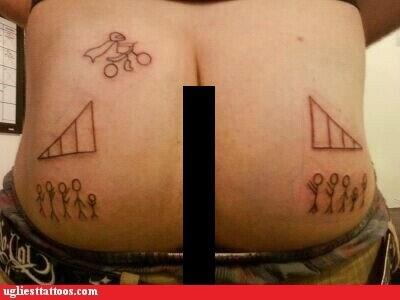 butt tattoos,dare devil,stunt