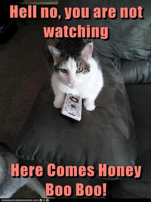 Hell no, you are not watching  Here Comes Honey Boo Boo!