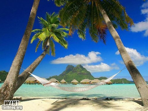 Hammock WINcation in Bora Bora