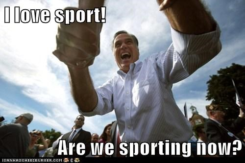 confusion,i love,Mitt Romney,sporting,sports,yay