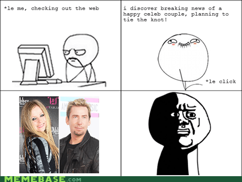 Rage Comics: Please God, Don't Let Chavril Breed