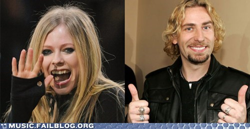 Avril Lavigne Is Engaged To Nickelback Singer Chad Kroeger
