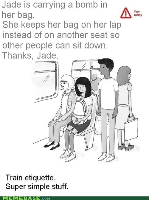 bomb,jade,train etiquette