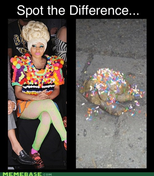 nicki minaj,sprinkles,thats-racist