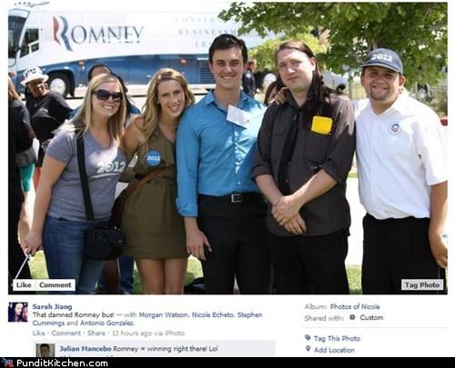 bus,Mitt Romney,obama,photobomb,well played