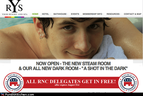 Gay Bathhouse in Tampa Offers Free Admission to GOP Delegates
