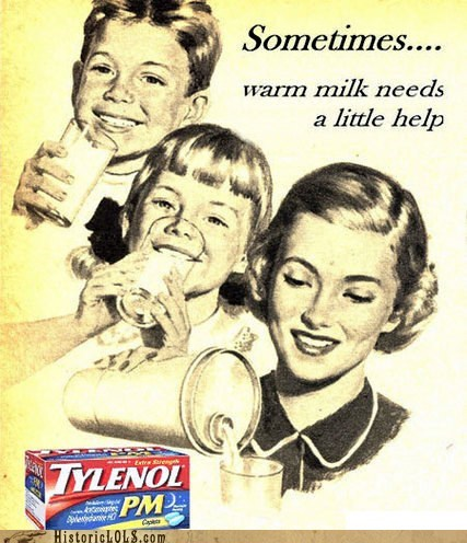 drugs,kids,milk,sleep,tylenol