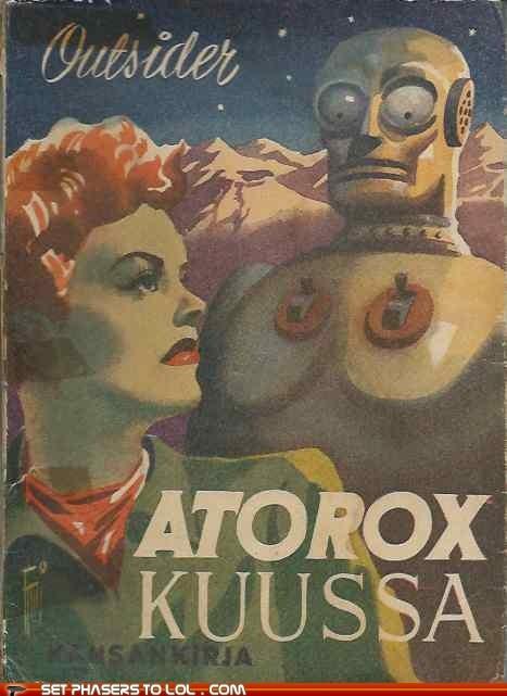 WTF Sci-Fi Book Covers: Atorox Kuussa