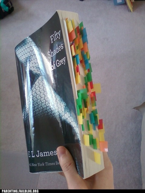 My Mom's Copy of 50 Shades of Grey