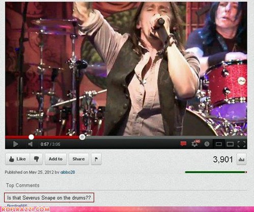 comment,funny,Harry Potter,Music,Severus Snape,youtube