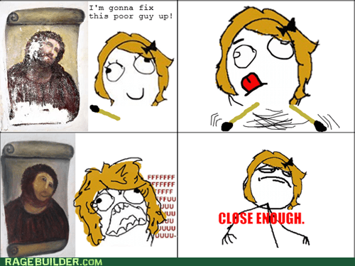 Rage Comics: I Think It Looks Better This Way