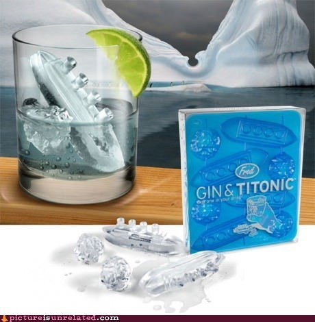 gin and tonic,ice,titanic,tragic
